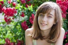 Retrato de um adolescente imagens de stock royalty free
