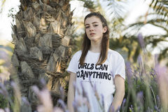 Retrato de um adolescente do adolescente de 15 anos Fotografia de Stock Royalty Free