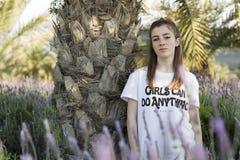 Retrato de um adolescente do adolescente de 15 anos Foto de Stock Royalty Free