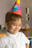 Retrato de um aniversário Fotografia de Stock Royalty Free