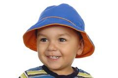 Retrato de um ano do menino Imagem de Stock