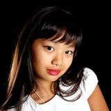 Retrato de um asian bonito fotografia de stock royalty free