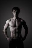 Retrato de um atleta fotos de stock royalty free