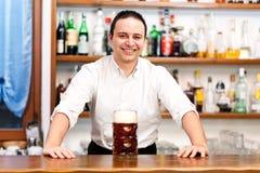 Barman imagem de stock royalty free