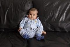 Retrato de um bebé bonito Foto de Stock Royalty Free