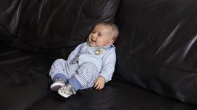 Retrato de um bebé bonito Imagens de Stock