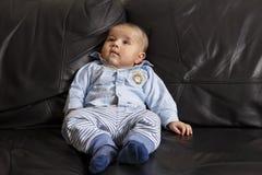 Retrato de um bebé bonito Imagem de Stock Royalty Free