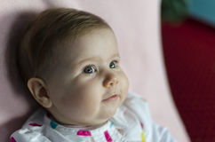 Retrato bonito do bebê Imagem de Stock Royalty Free
