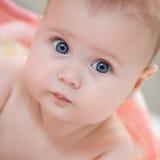 Retrato de um bebê Fotos de Stock Royalty Free