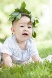 Retrato de um bebê Fotografia de Stock