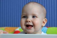 Retrato de um bebê de 11 meses Imagem de Stock