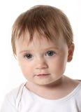 Retrato de um bebê feliz bonito Foto de Stock Royalty Free