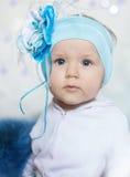 Retrato de um bebê pequeno fotos de stock