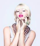 Retrato de um blonde Imagem de Stock