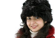 Retrato de um brunette novo Imagem de Stock