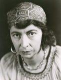 Retrato de um cigano Imagem de Stock Royalty Free
