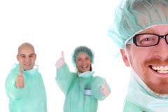 Retrato de um cirurgião imagens de stock royalty free