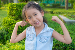 Retrato de um close-up bonito da menina do liitle Imagem de Stock