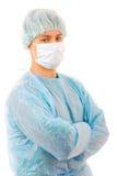 Retrato de um doutor novo bem sucedido Fotos de Stock