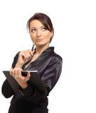 Retrato de um empreendedor fêmea novo imagem de stock royalty free