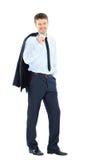 Retrato de um executivo empresarial bem sucedido Foto de Stock Royalty Free