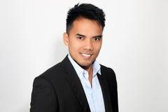 Retrato de um filipino atrativo fotos de stock