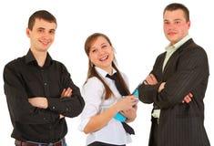 Retrato de um grupo de estudo Foto de Stock