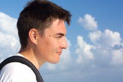Retrato de um homem. Fotos de Stock
