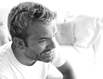 Retrato de um homem Fotos de Stock Royalty Free