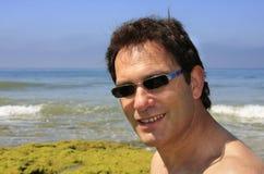 Retrato de um homem fotografia de stock royalty free