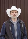 Retrato de um homem Fotografia de Stock