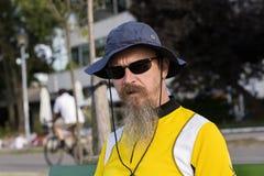 Retrato de um homem Fotos de Stock