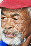 Retrato de um homem africano sênior Imagem de Stock Royalty Free