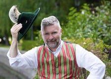 Retrato de um homem bávaro Fotografia de Stock Royalty Free