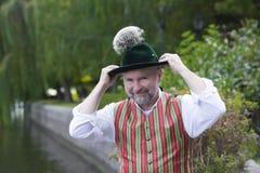 Retrato de um homem bávaro Imagens de Stock