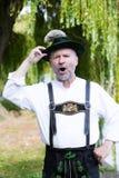 Retrato de um homem bávaro Fotos de Stock Royalty Free