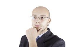 Retrato de um homem de negócio Imagens de Stock Royalty Free