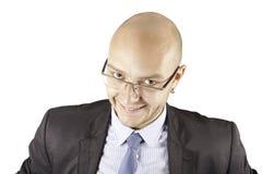 Retrato de um homem de negócio Fotos de Stock