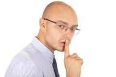 Retrato de um homem de negócio Fotografia de Stock Royalty Free