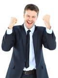 Retrato de um homem de negócio Imagens de Stock