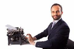 Retrato de um homem de negócio Imagem de Stock Royalty Free