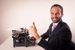 Retrato de um homem de negócio Foto de Stock