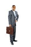 Retrato de um homem de negócio africano Fotos de Stock
