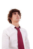 Retrato de um homem de negócio novo fotografia de stock royalty free