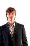 Retrato de um homem de negócios à moda Imagem de Stock Royalty Free