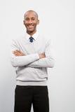 Retrato de um homem de negócios Imagem de Stock