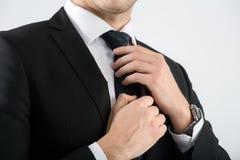 Retrato de um homem de negócios Imagens de Stock