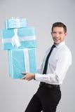 Retrato de um homem de negócios foto de stock royalty free