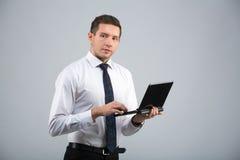 Retrato de um homem de negócios imagem de stock royalty free