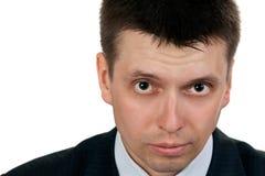 Retrato de um homem de negócios considerável novo Fotografia de Stock Royalty Free